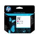 Cap Imprimare HP 72 (C9383A) ORIGINAL, Magenta/Cian