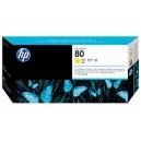 Cap Imprimare HP 80 (C4823A) ORIGINAL, Galben