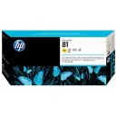 Cap Imprimare + Cleaner HP 81 (C4953A) ORIGINAL, Galben