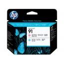 Cap Imprimare HP 91 (C9462A) ORIGINAL, Magenta deschis/Cian deschis
