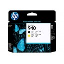 Cap Imprimare HP 940 (C4900A) ORIGINAL, Negru