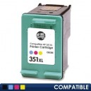 Cartus HP 351XL (CB338EE) Compatibil, Color, capacitate mare