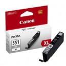 Cartus Canon CLI-551GY XL gri, ORIGINAL, capacitate mare