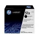 Toner HP Q7551X (51X) negru, ORIGINAL