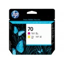 Cap Imprimare HP 70 (C9406A) ORIGINAL, Magenta/Galben